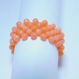 ピンク サンゴ  リング(リング(指輪))