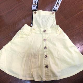 ピンクラテ(PINK-latte)のPINK-latteジャンパースカート160cm(スカート)