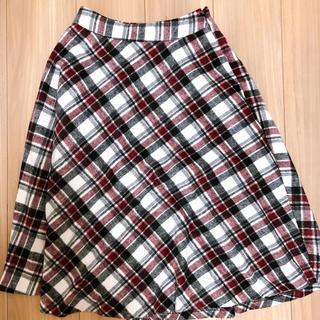 セシルマクビー(CECIL McBEE)のセシルマクビー ギンガム Aラインスカート(ロングスカート)