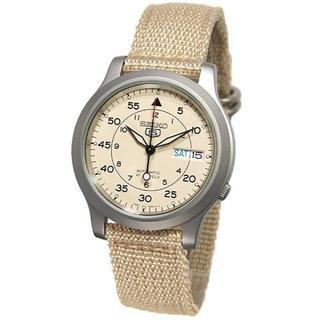 セイコー(SEIKO)のセイコ 自動巻腕時計  防水男女共用 最後の一点 ベージュ (腕時計(アナログ))
