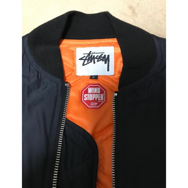 STUSSY(ステューシー)のstussy  WIND STOPPER ジャケット MA1 メンズのジャケット/アウター(フライトジャケット)の商品写真