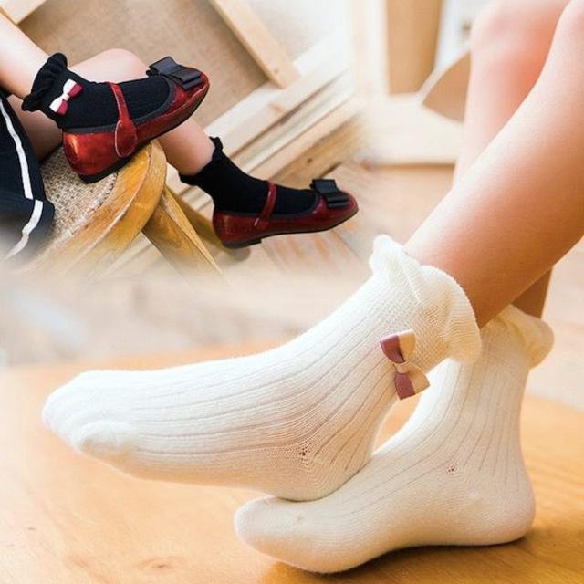 petitnats❤キャンディリボン《13〜15cm》〔yk17038-s〕 キッズ/ベビー/マタニティのこども用ファッション小物(靴下/タイツ)の商品写真