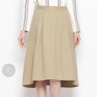オペークドットクリップ(OPAQUE.CLIP)のロングフレアスカート(ひざ丈スカート)