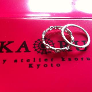カオル(KAORU)のワコ様★15日までお取り置き(リング(指輪))
