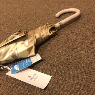 ランバンオンブルー(LANVIN en Bleu)のランバンオンブルー 傘 長傘 雨傘 スライド式耐風傘 親骨の長さ60cm タグ付(傘)