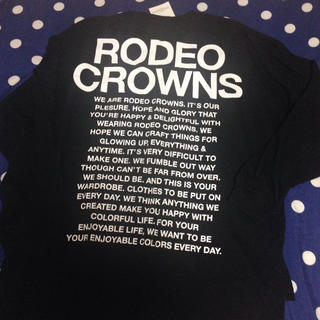 RODEO CROWNS - 新品 RODEO CROWNS☺︎ロンT (最終お値下げ)