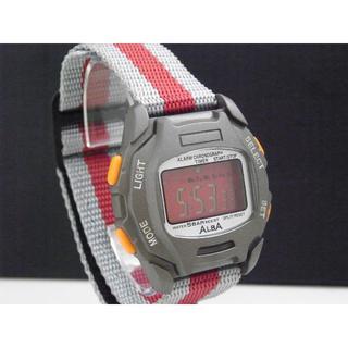 アルバ(ALBA)のALBA デジタル腕時計 アラームクロノグラフ Y735(腕時計(デジタル))