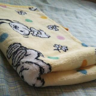 スヌーピー(SNOOPY)のマルチ ひざ掛け 毛布 スヌーピー(毛布)