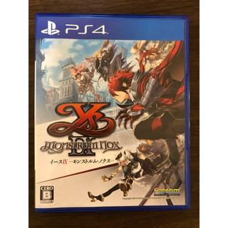 プレイステーション4(PlayStation4)のイースIX - Monstrum NOX - 通常版 特典コード付(家庭用ゲームソフト)