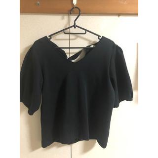 GU - 【ほぼ新品】GU 黒 シャツ?