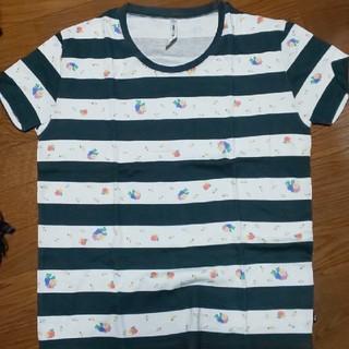 グラム(glamb)のglamb ボーダー 花柄 カットソー(Tシャツ/カットソー(半袖/袖なし))