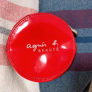 アニエスベー(agnes b.)のアニエスベー ポーチ コインケース 赤(コインケース)