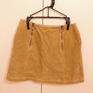 マーキュリーデュオ(MERCURYDUO)のMERCURYDUO コーデュロイスカート(ミニスカート)