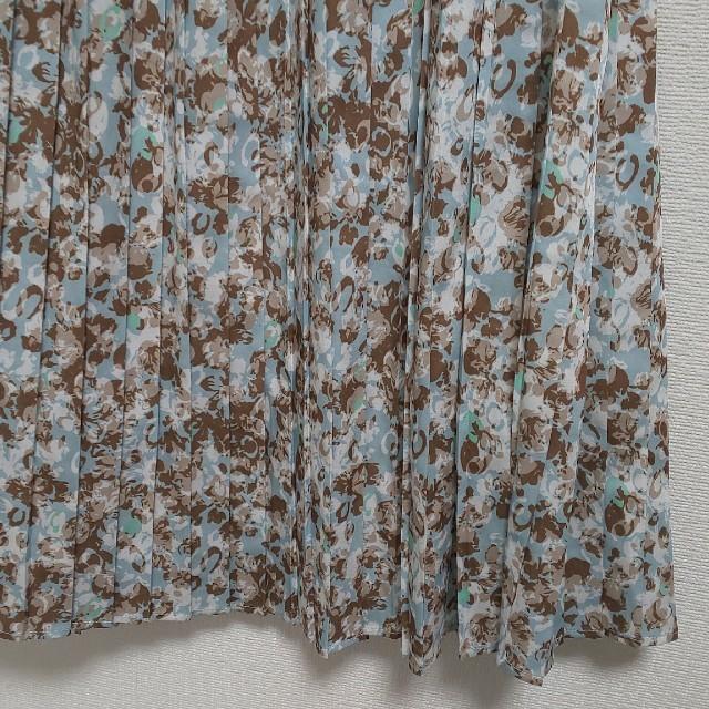 Stola.(ストラ)の幾何柄プリーツスカート レディースのスカート(ひざ丈スカート)の商品写真