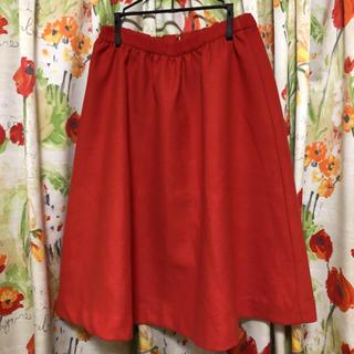 イーストボーイ(EASTBOY)の新品タグ付き EAST BOYのスカート(ひざ丈スカート)