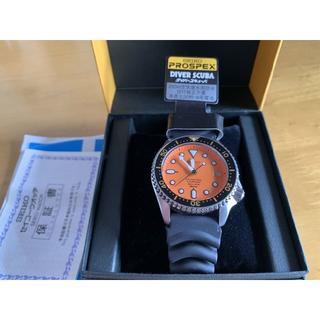 セイコー(SEIKO)のOH済 セイコー オレンジ SBCM029 200m  8F35 パーペチュアル(腕時計(アナログ))