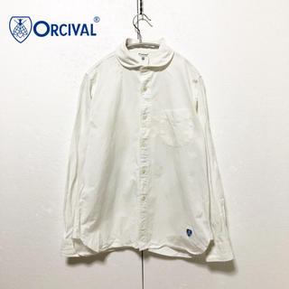 オーシバル(ORCIVAL)の【ORCIVAL】丸襟 ブランドロゴアイコンシャツ(シャツ/ブラウス(長袖/七分))