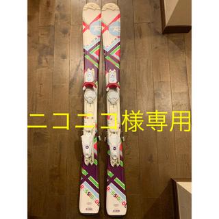 ロシニョール(ROSSIGNOL)のスキー板 ロシニョール  108cm ストック付き(板)