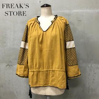 フリークスストア(FREAK'S STORE)の【FREAK'S STORE】刺繍ブラウス フリークスストア(シャツ/ブラウス(長袖/七分))
