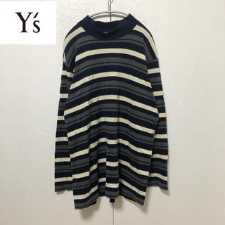 ワイズ(Y's)の【Y's for men】マルチボーダー ボトルネックカットソー(Tシャツ/カットソー(七分/長袖))