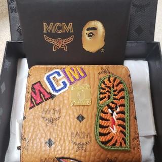 エムシーエム(MCM)のBape mcm SHARK ZIP Wallet 財布(折り財布)