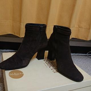 Seducta スエードショートブーツ(ブーツ)