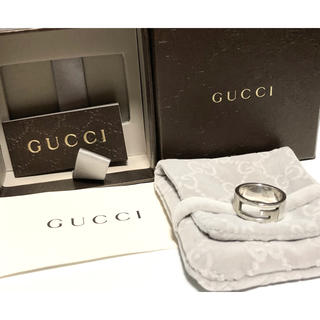 グッチ(Gucci)のグッチ リング 指輪 GUCCI 14号 シルバー(リング(指輪))