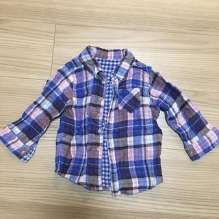 ベルメゾン(ベルメゾン)のチェック柄のシャツ(ベビー)(シャツ/カットソー)