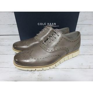 コールハーン(Cole Haan)の新品 COLE HAAN ZEROGRAND 12 メンズ ブラウン グレー(ドレス/ビジネス)