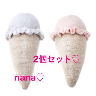 ジェラートピケ(gelato pique)のジェラートピケ♡アイスクリームクッション♡2個セット!!(その他)