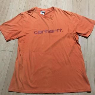カーハート(carhartt)のTシャツ☆carhartt☆オレンジ(Tシャツ/カットソー(半袖/袖なし))