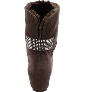 ブリジットバーキン(Bridget Birkin)の新品 定価12980円 ブリジットバーキン スエード グレー 22.5〜23(ブーツ)
