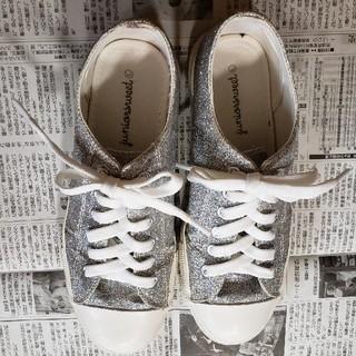 ウィゴー(WEGO)のwego 靴 スニーカー キラキラ ラメ(スニーカー)