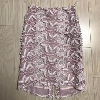 ファーファー(fur fur)のFURFUR タイトスカート(ひざ丈スカート)