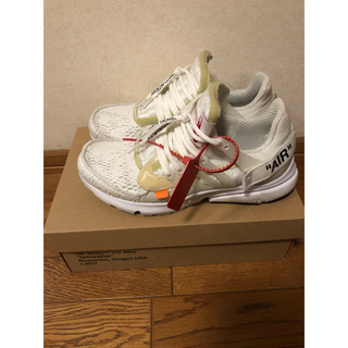 オフホワイト(OFF-WHITE)のNike The 10 off White Air Presto 28.0(スニーカー)