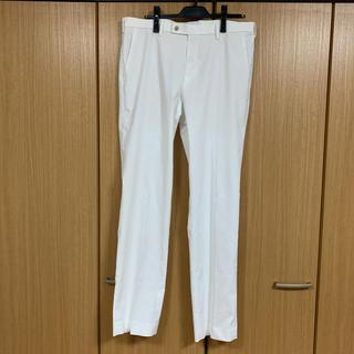 UNIQLO - 感動パンツ スラックス ホワイトパンツ ユニクロ W91