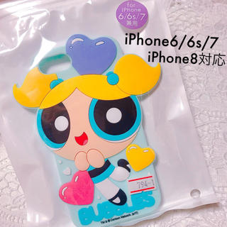エックスガール(X-girl)の【新品💛未開封】パワパフガールズ iPhoneケース バブルス 🧡即完売品!(iPhoneケース)