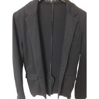ノーアイディー(NO ID.)の【処分大特価!】 黒のテーラードジャケット(テーラードジャケット)