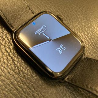 エルメス(Hermes)の値下可Applewatch HERMES エルメス男性Series5 2019年(腕時計(デジタル))
