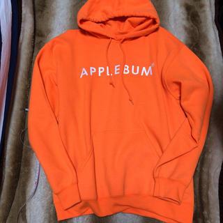 アップルバム(APPLEBUM)のapplebum パーカー ネオンオレンジ アップルバム (パーカー)