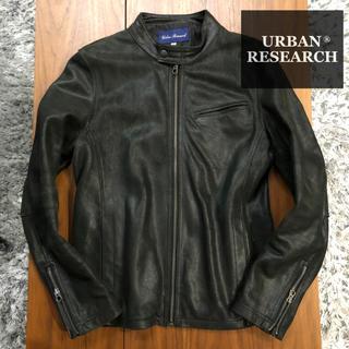 アーバンリサーチ(URBAN RESEARCH)のURBAN RESEARCHライダースジャケットラムレザー羊革レザージャケット(ライダースジャケット)