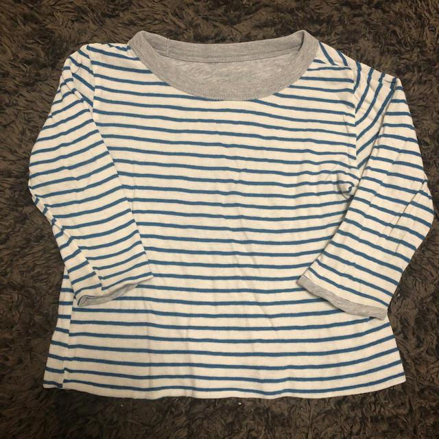 SHIPS(シップス)のリバーシブル ロンT 90cm キッズ/ベビー/マタニティのキッズ服 男の子用(90cm~)(Tシャツ/カットソー)の商品写真
