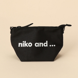 ニコアンド(niko and...)のniko and…❤️ロゴ ポーチ(ポーチ)