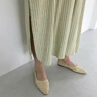 トゥデイフル(TODAYFUL)のTODAYFUL トゥデイフル Braid Flat Shoes(ハイヒール/パンプス)