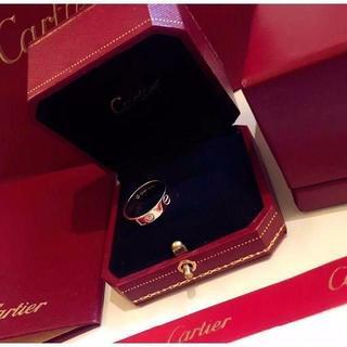 カルティエ(Cartier)のカルティエ ラブリング K18 ピンクゴールド(リング(指輪))