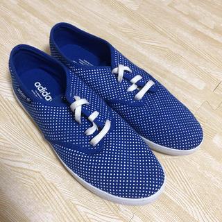 アディダス(adidas)の24.5 adidas スリッポン スニーカー(スリッポン/モカシン)
