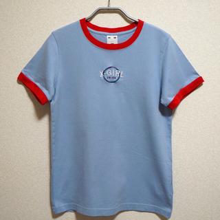 エックスガール(X-girl)のX-girl CIRCLE RINGER S/S TEE BLUE(Tシャツ(半袖/袖なし))