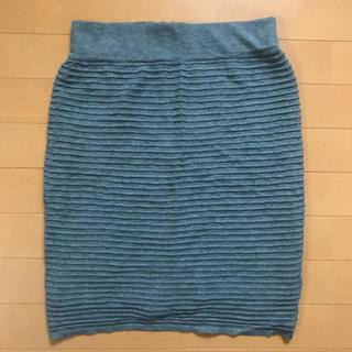 ルシェルブルー(LE CIEL BLEU)のルシェルブルー  ニットスカート(ミニスカート)