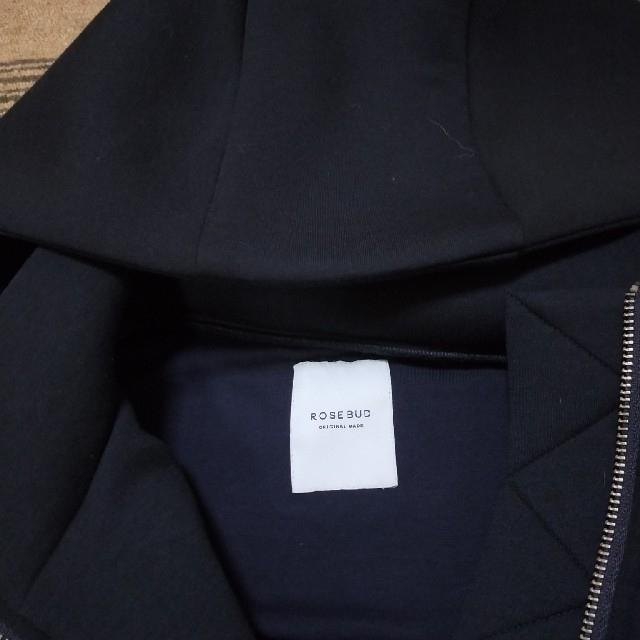 ROSE BUD(ローズバッド)のフーディアウター ROSE BUD 定価15120円 レディースのジャケット/アウター(ブルゾン)の商品写真