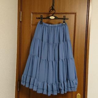 ヴィクトリアンメイデン(Victorian maiden)の【victorian maiden】シフォンスカート(ひざ丈スカート)